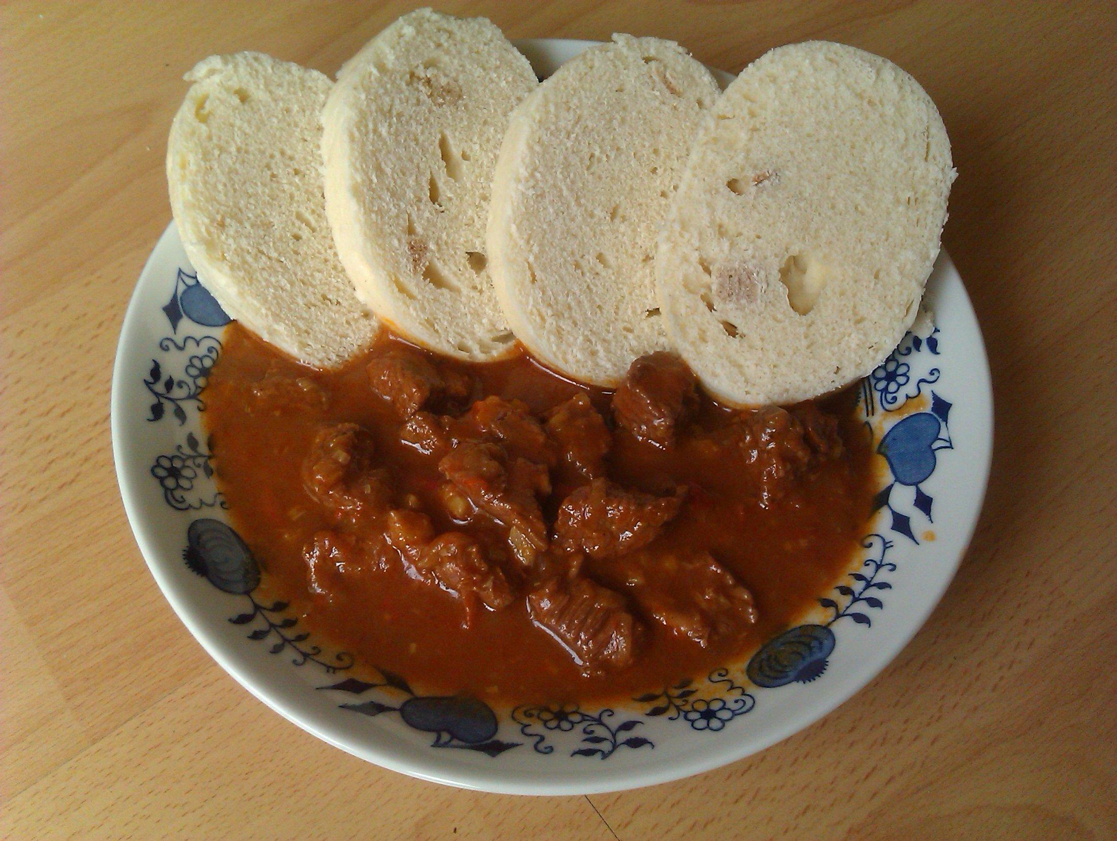 Recept Maďarský guláš 1 - Maďarský guláš