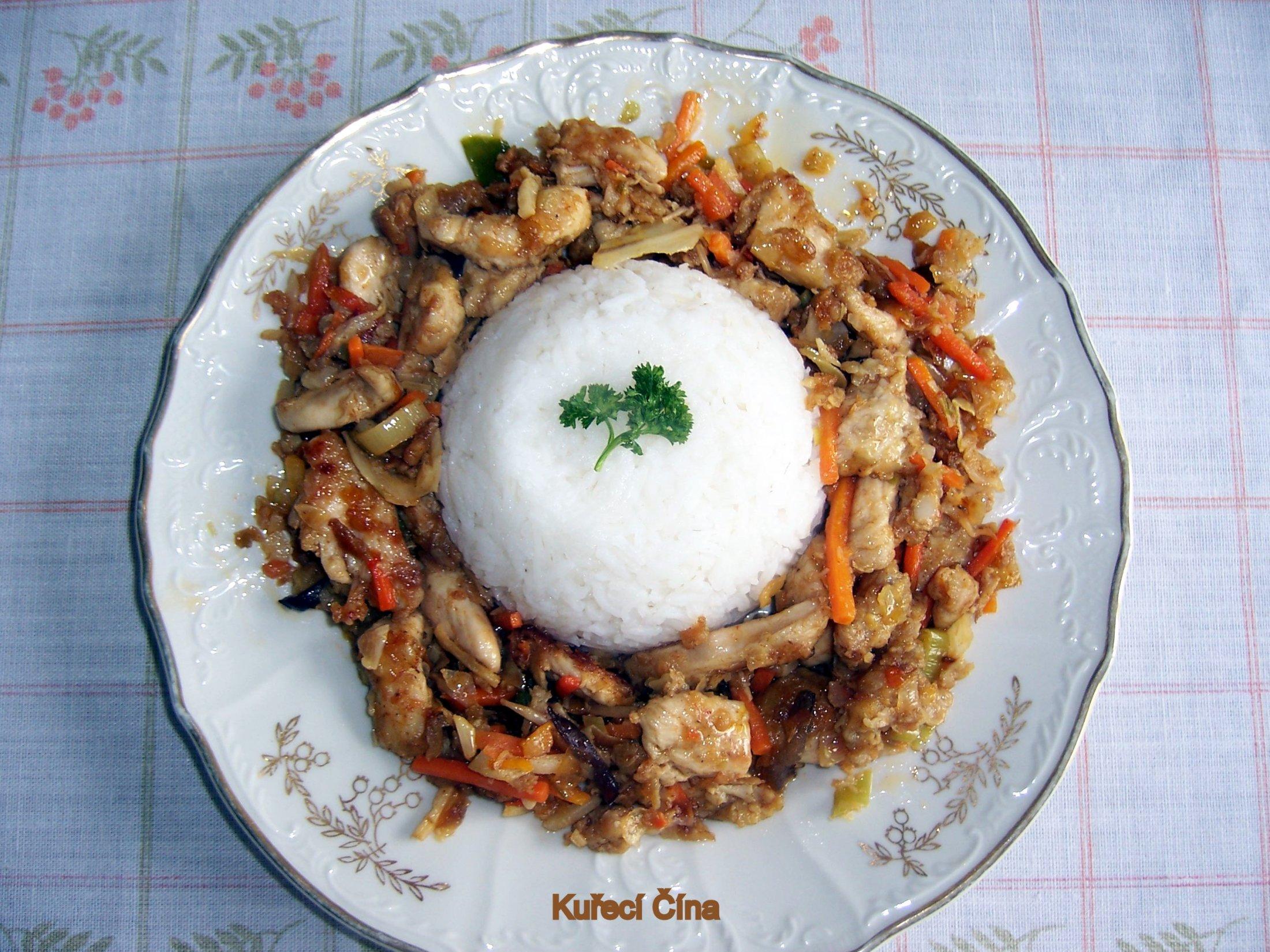 Recept Kuřecí čína se zeleninou - Směs je i pod rýží!