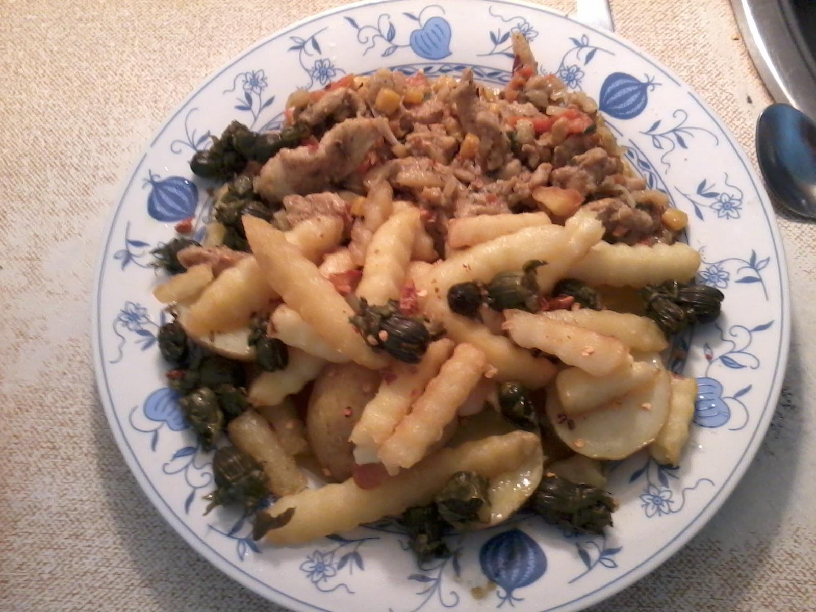 Fotografie receptu: Kuřecí čína se zeleninou