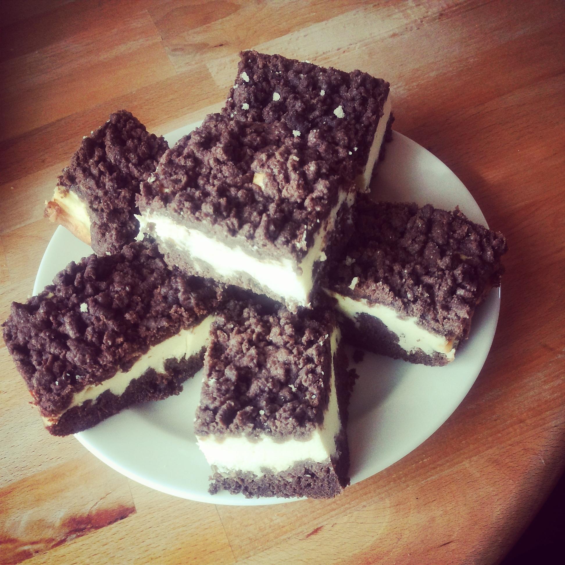 Recept Strouhaný koláč s tvarohem - Strouhaný koláč s tvarohem