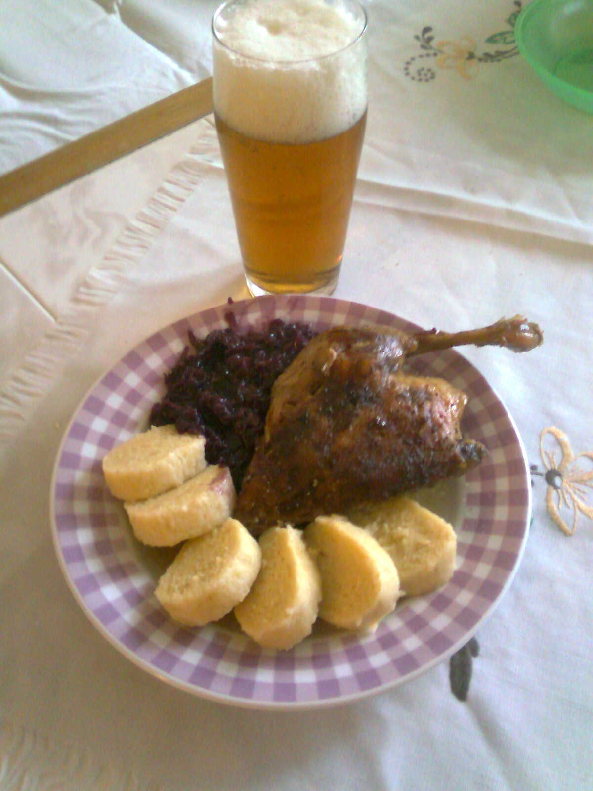 Recept Pečená kachna - Pečená kachna