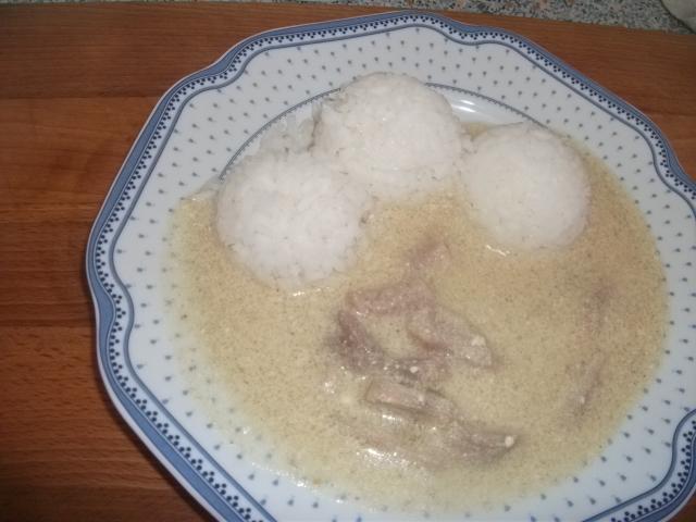 Fotografie receptu: Vepřová kýta v hořčičné omáčce