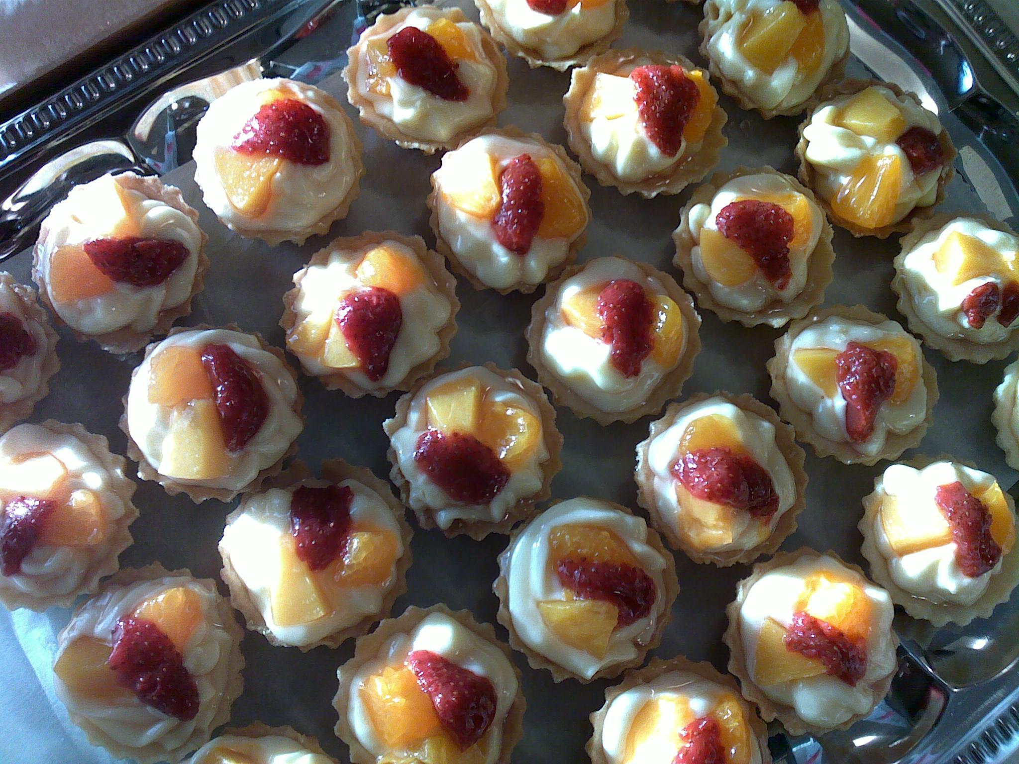 Recept Ovocné košíčky - Opravdu chutnají jako z cukrárny.