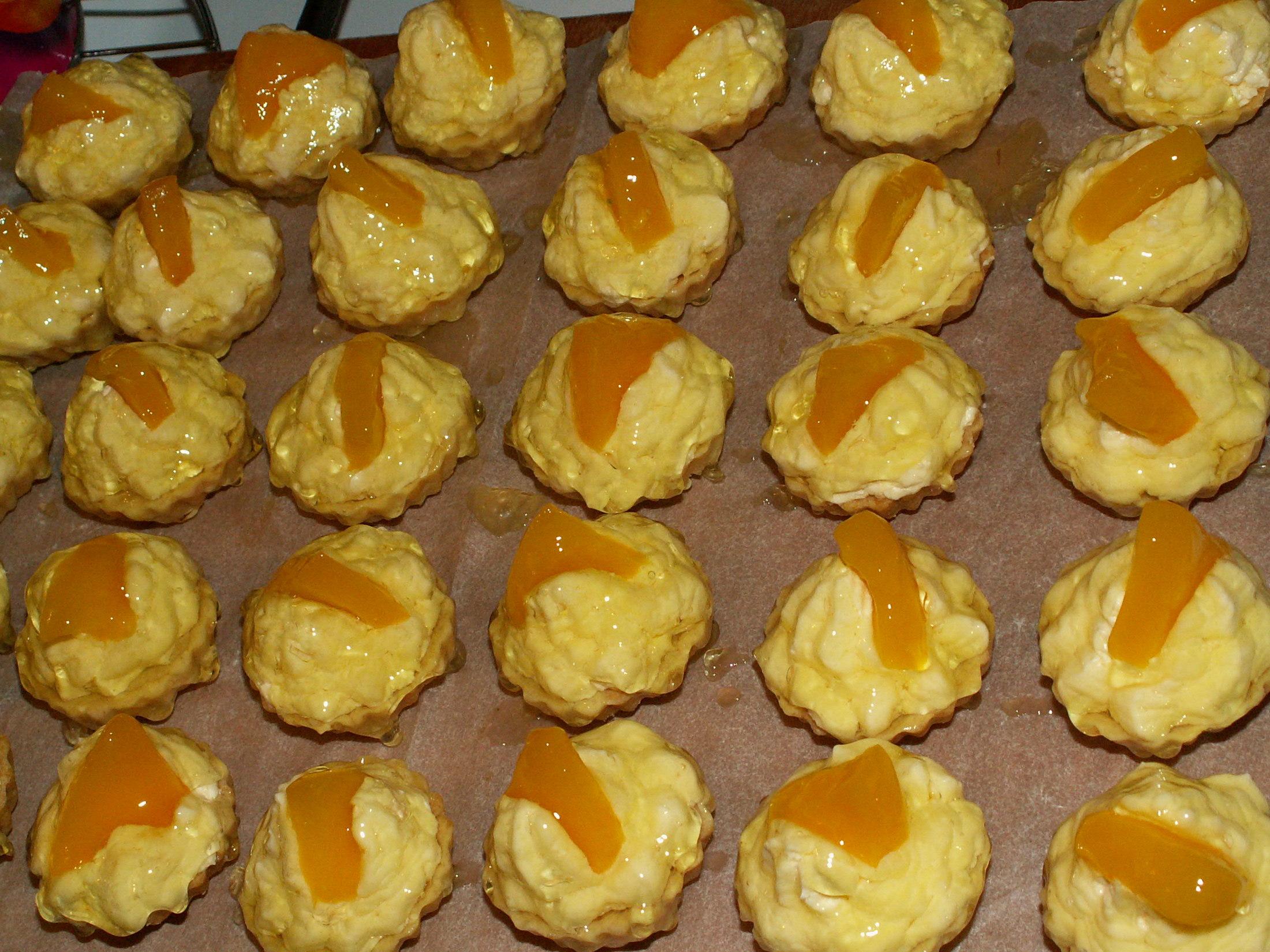 Fotografie receptu: Ovocné košíčky