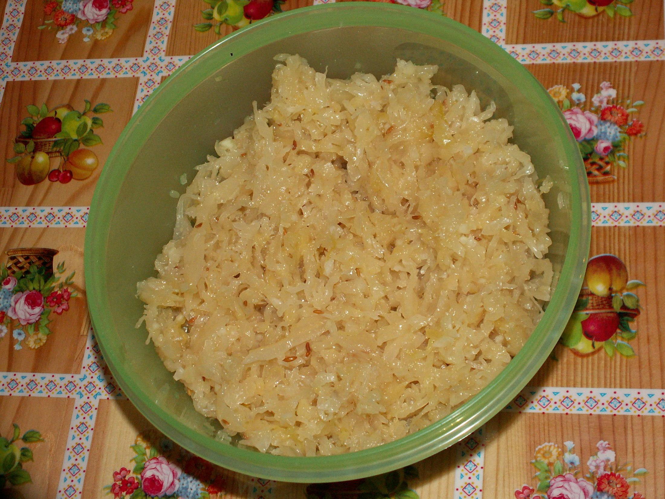 Základní recept na zelný salát