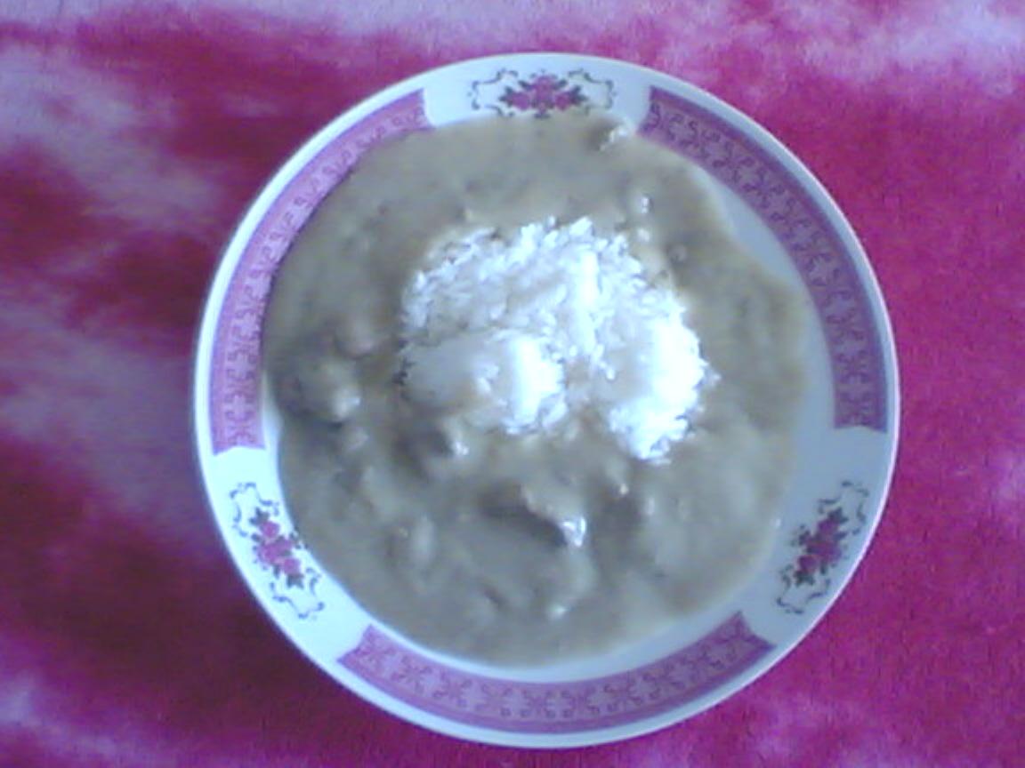 Recept Játrová omáčka - játra s rýží