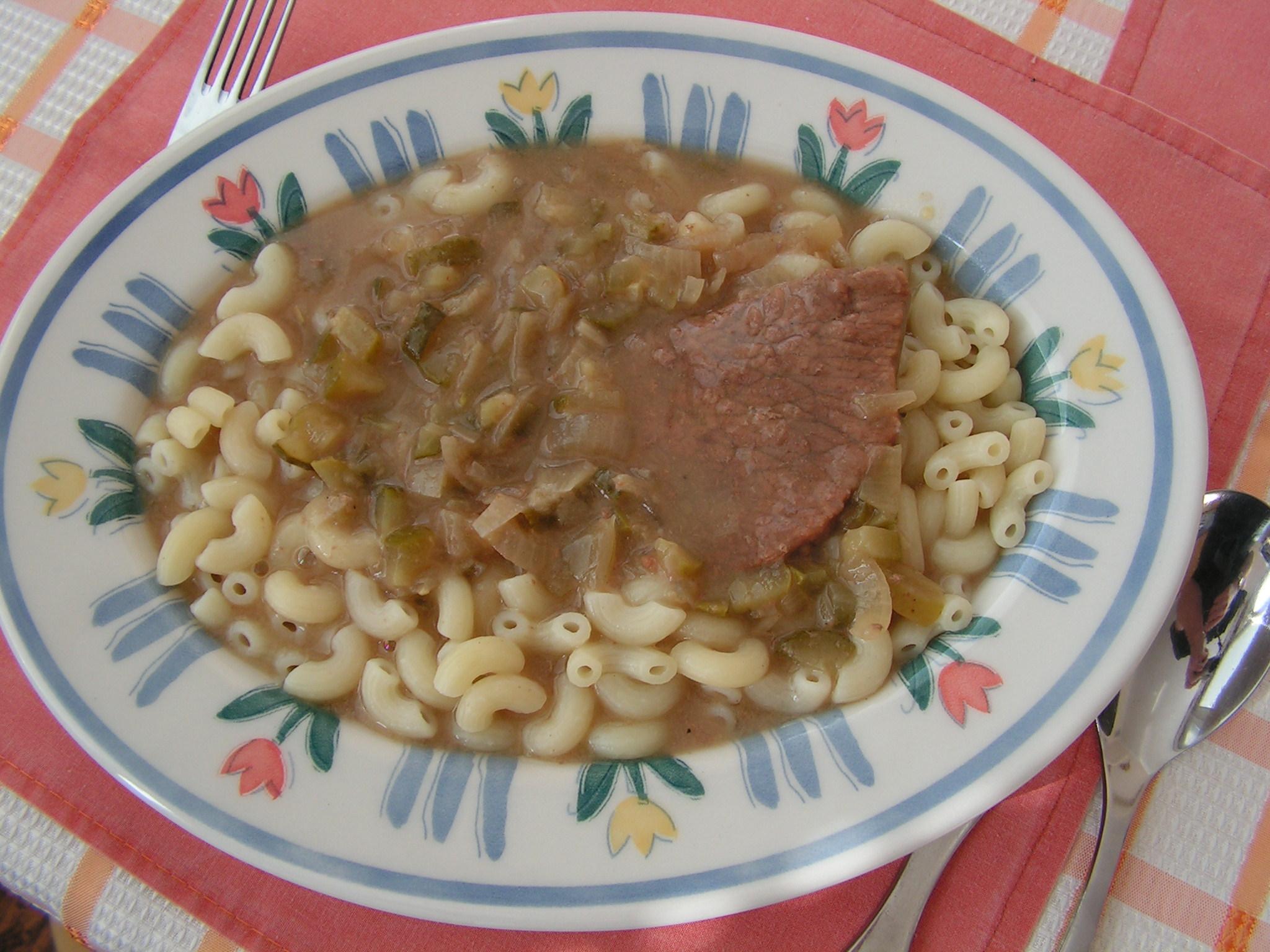 Recept Jednoduchá znojemská omáčka - Znojemská a kolínka.