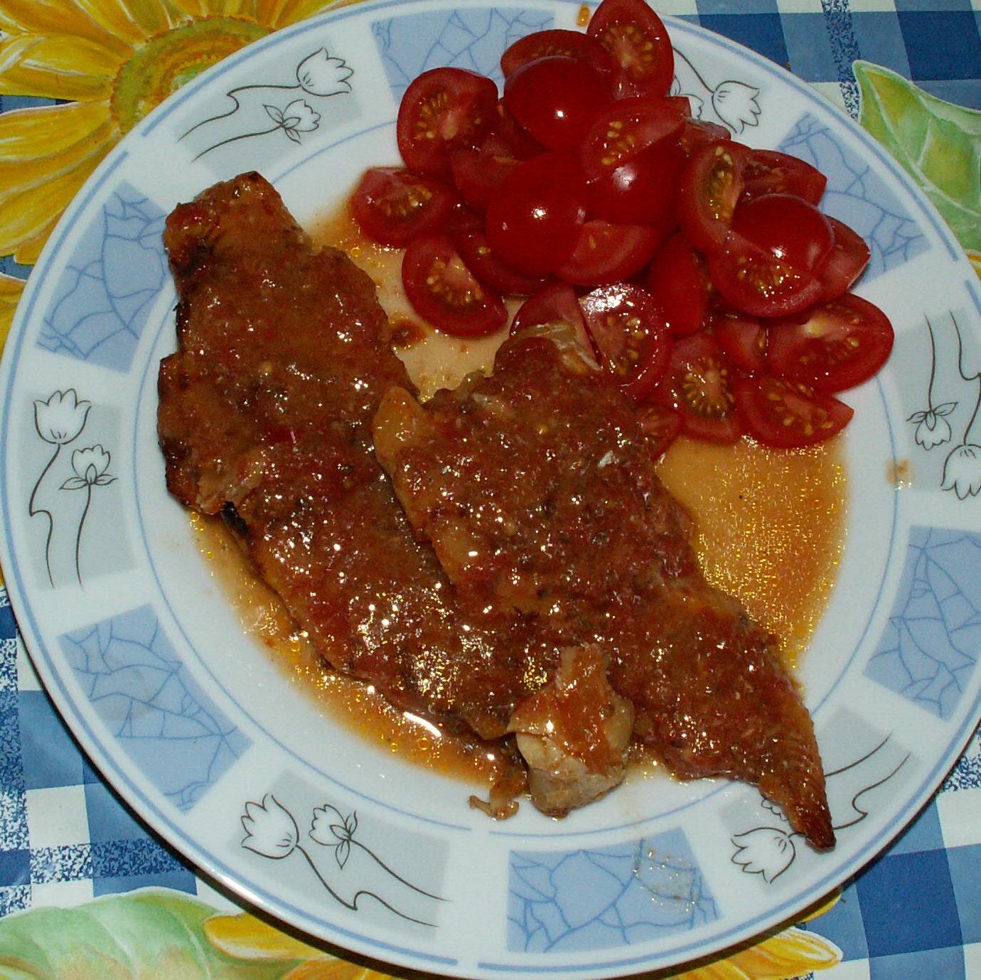 Pikantní rybí filé