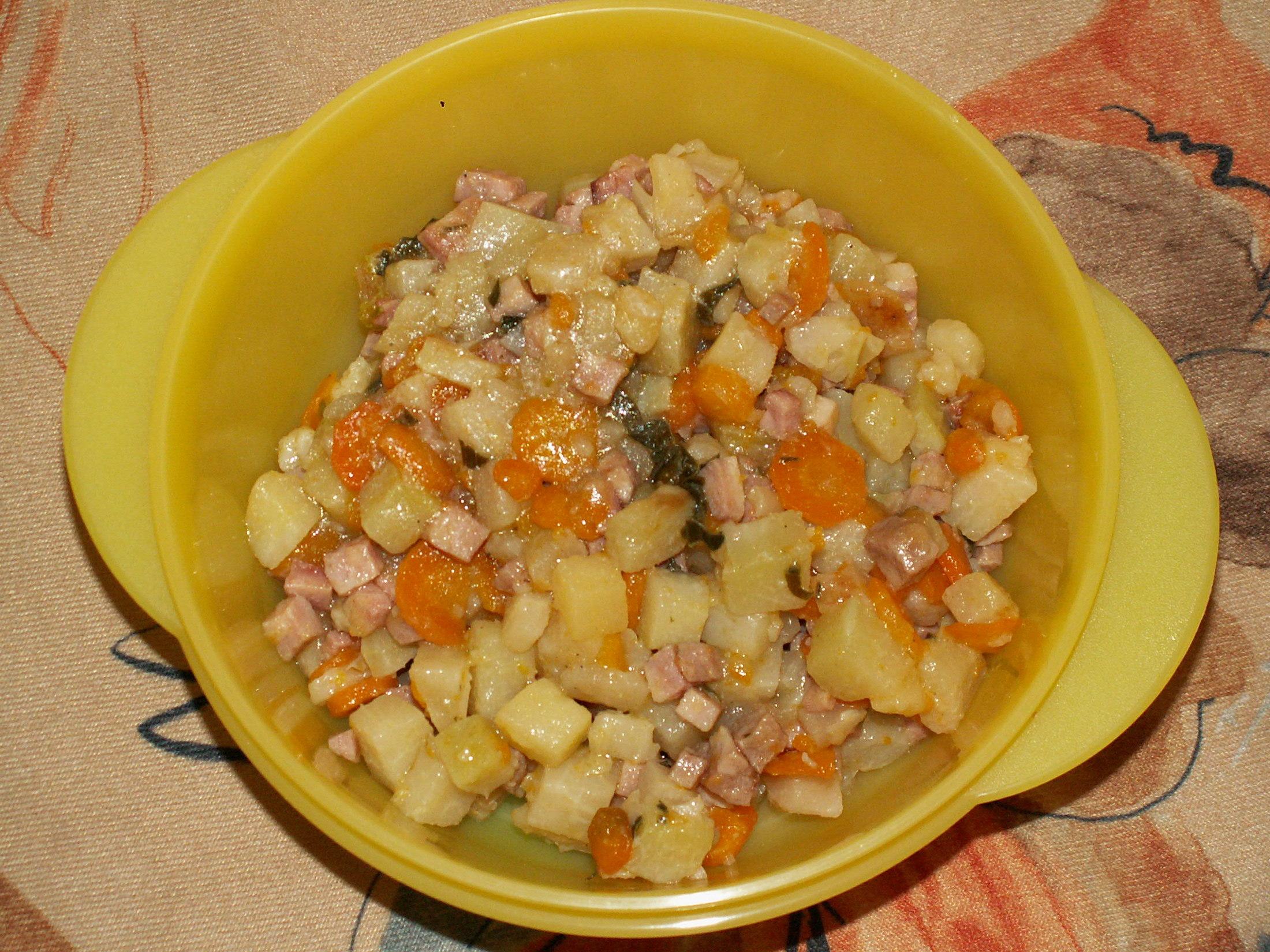 Recept Dušená zelenina - Hotová zeleninka.