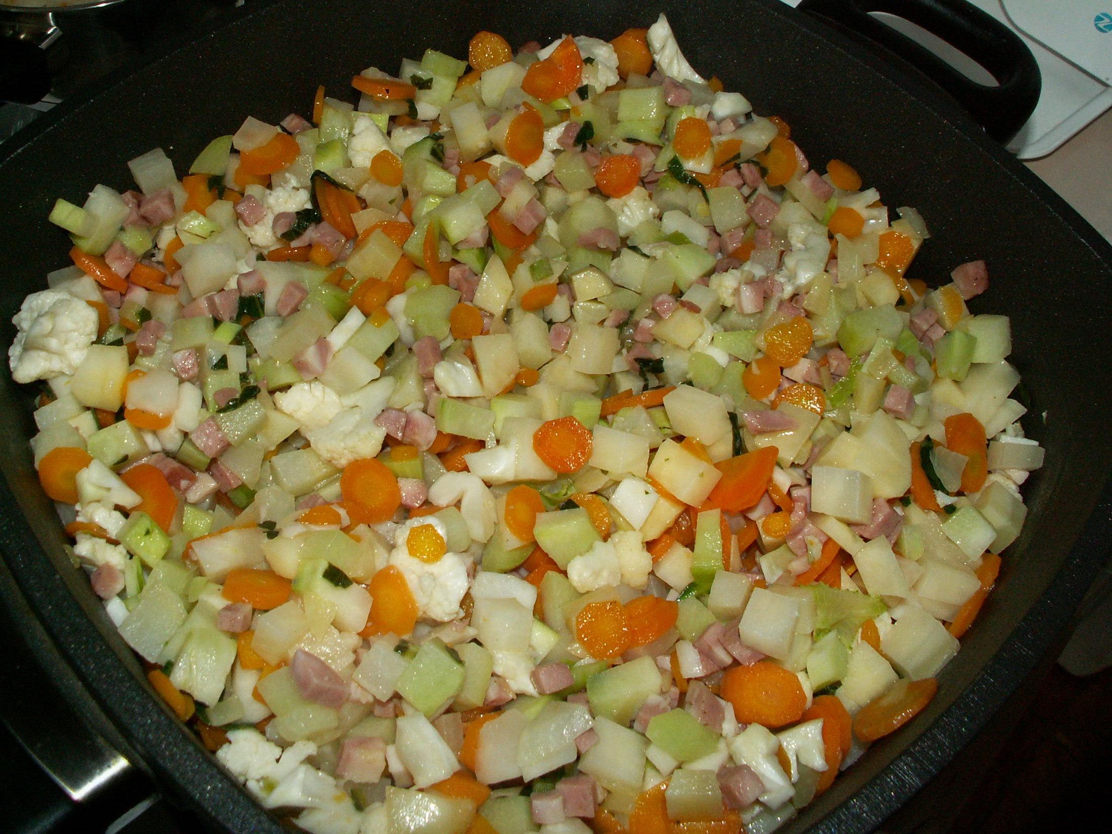 Recept Dušená zelenina - Dušená zeleninka.