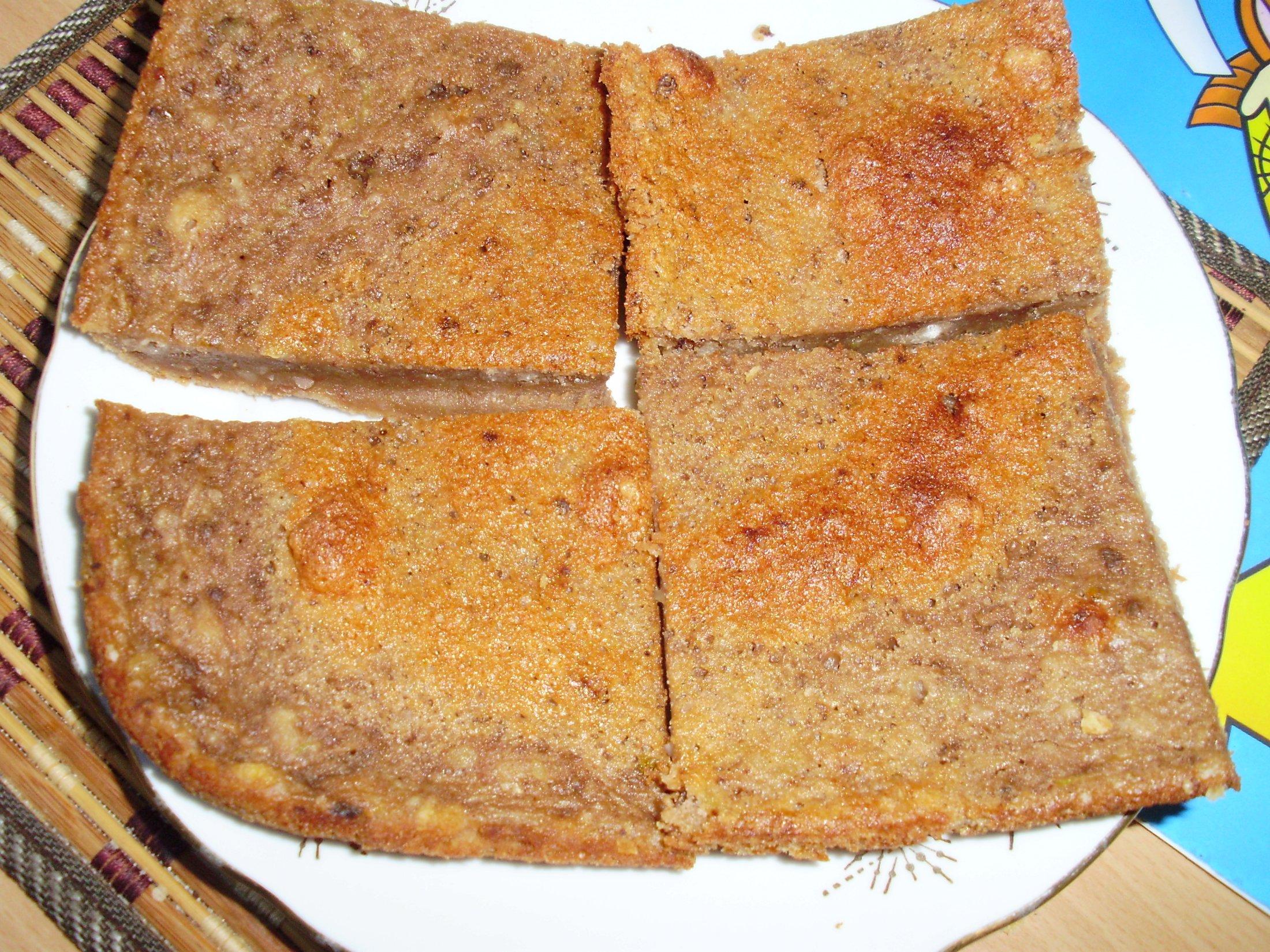 Recept Kakaová cuketová buchta - byla opravdu dobrá