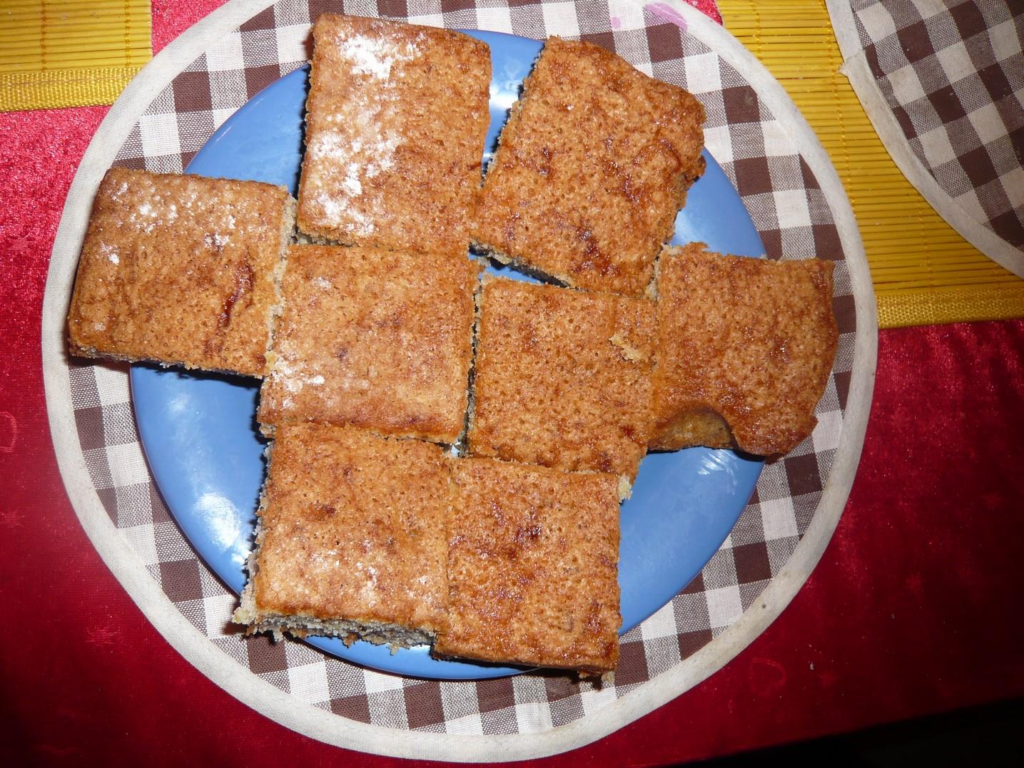 Fotografie receptu: Kakaová cuketová buchta