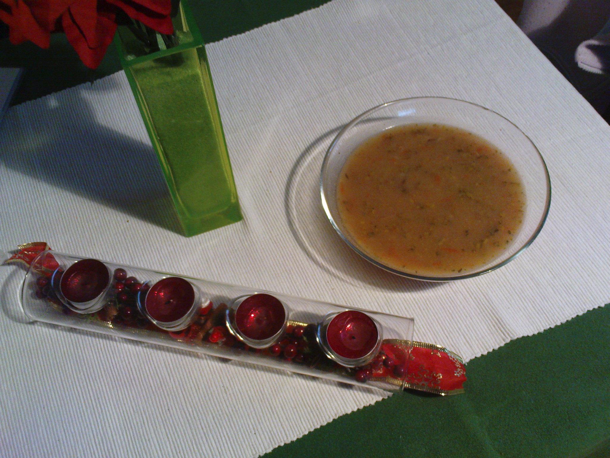 Recept Rychlá čočková polévka - Čočková polévka.