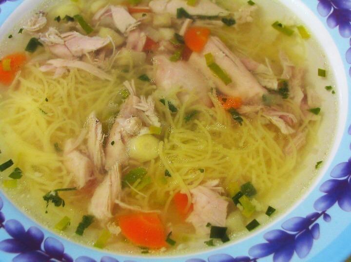 Babiččina kuřecí polévka