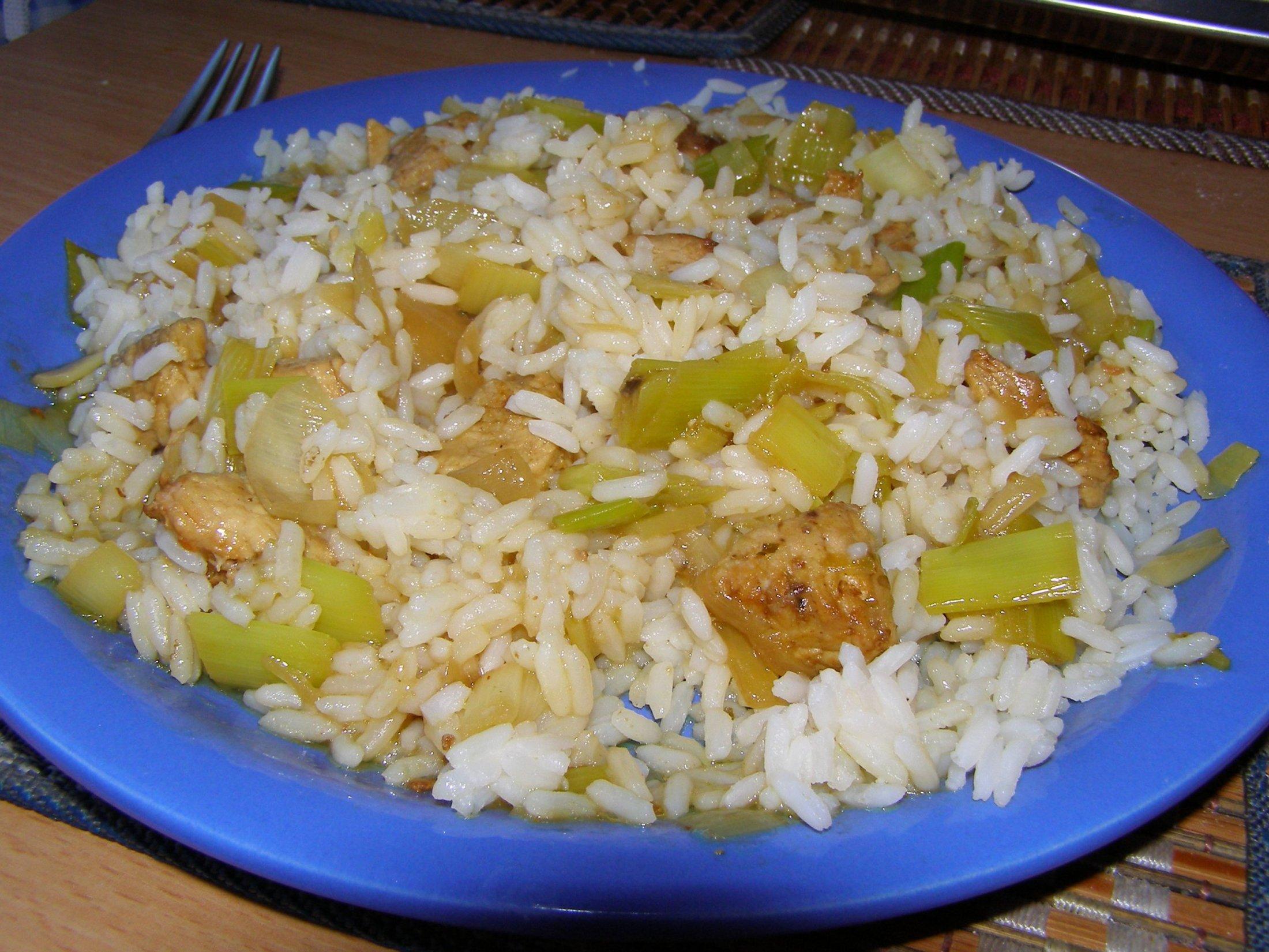 Recept Kuřecí rizoto s kukuřicí - Rizoto ala čína.