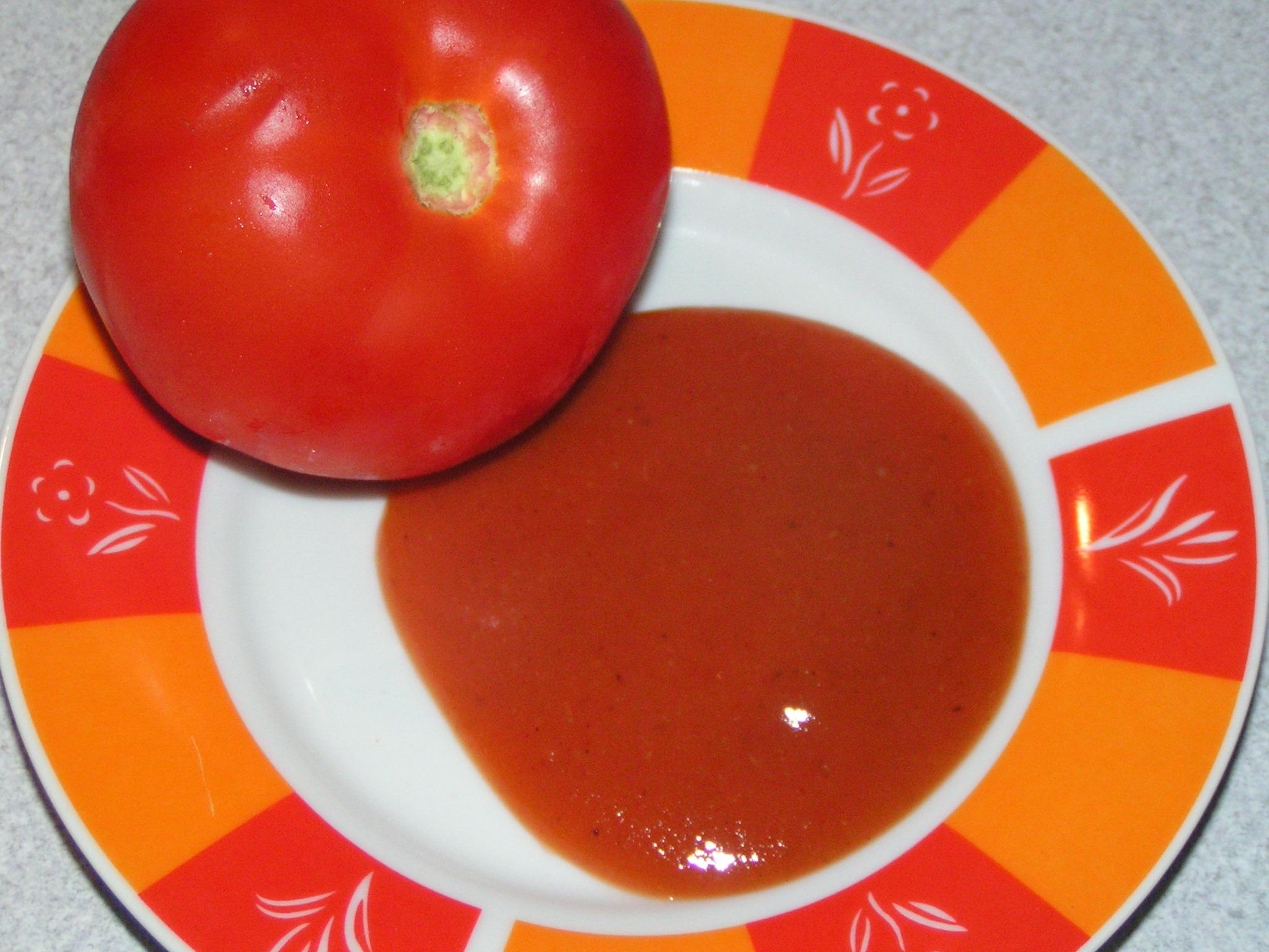 Recept Domácí kečup 2 - Domácí kečup je krásně hustý a chutná výborně.