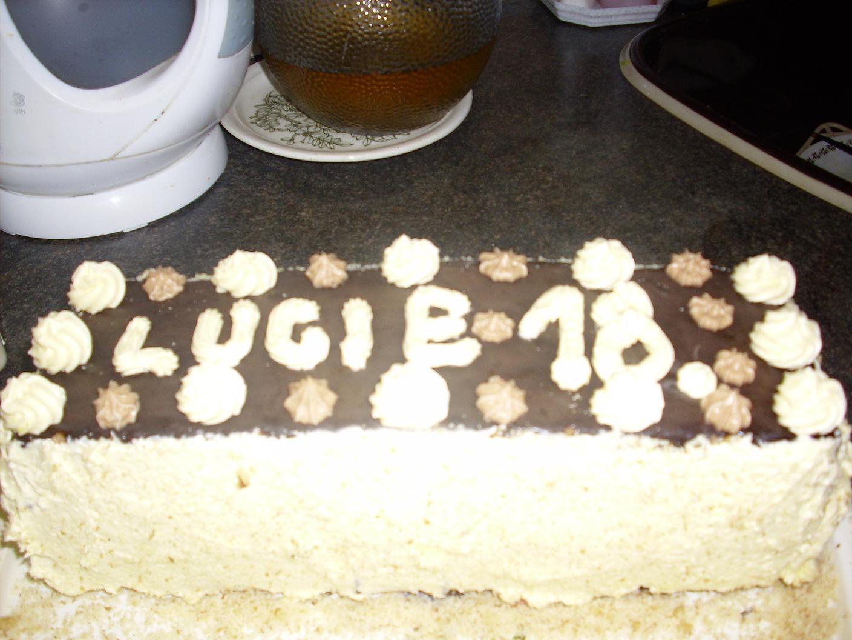 Recept Slavnostní ořechový dort - Ořechový dort k narozeninám