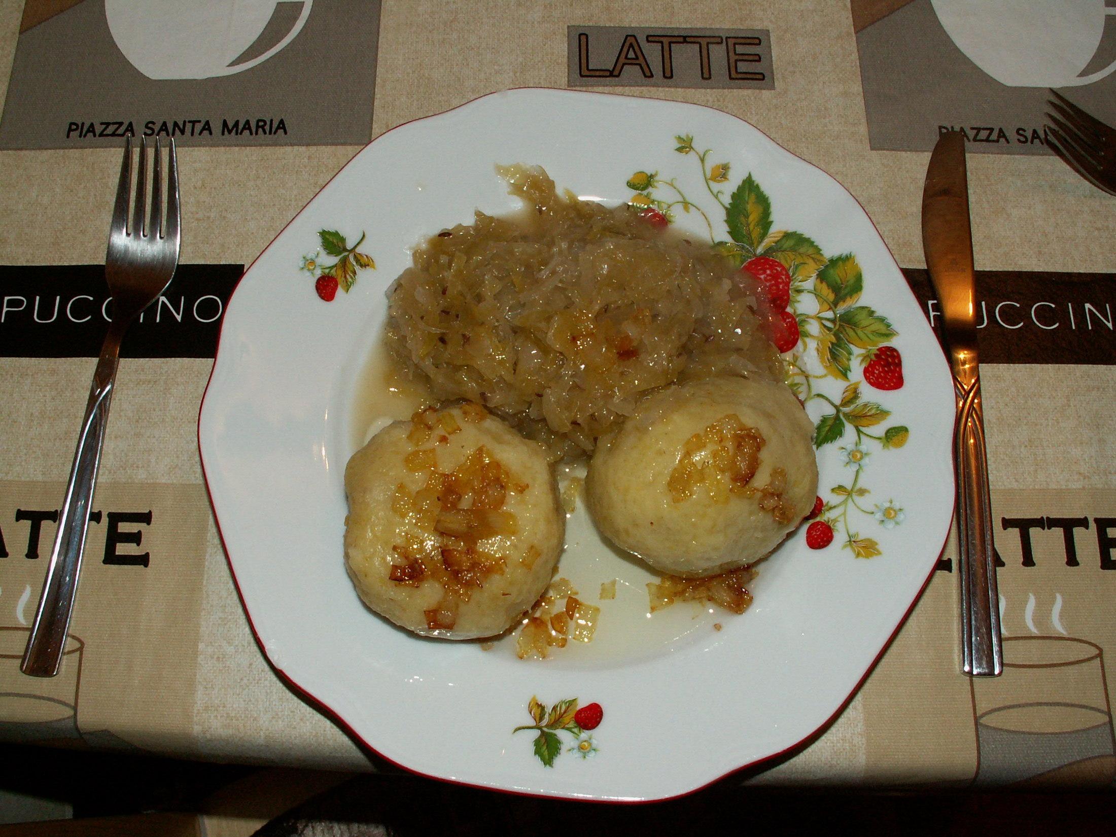 Recept Plněné bramborové knedlíky - Knedlíky s náplní číslo 1.