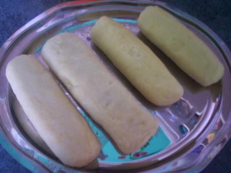 Recept Jednoduché bramborové knedlíky - Knedlíky mám uvařené.