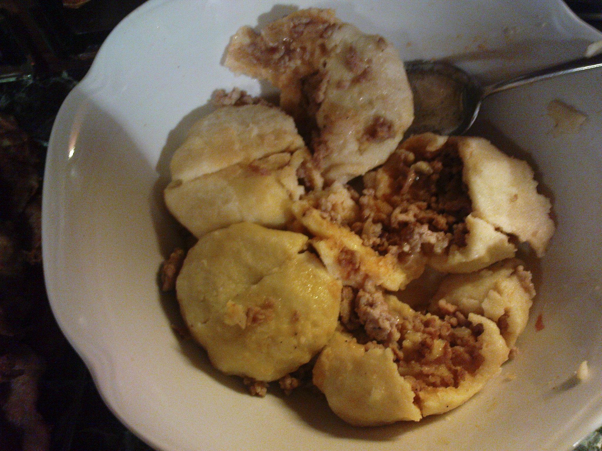 Fotografie receptu: Jednoduché bramborové knedlíky