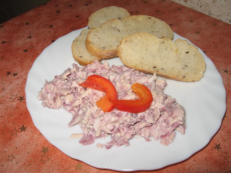 Domácí hanácký salát