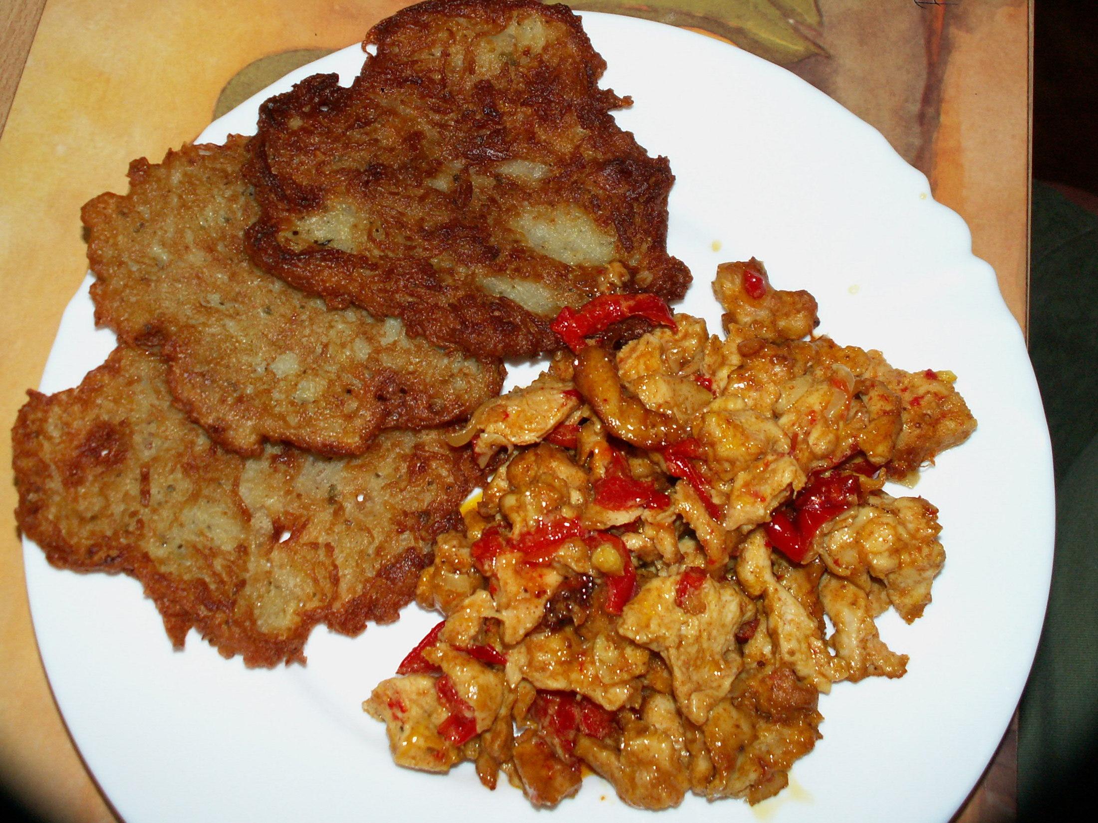 Pikantní čína z kuřete