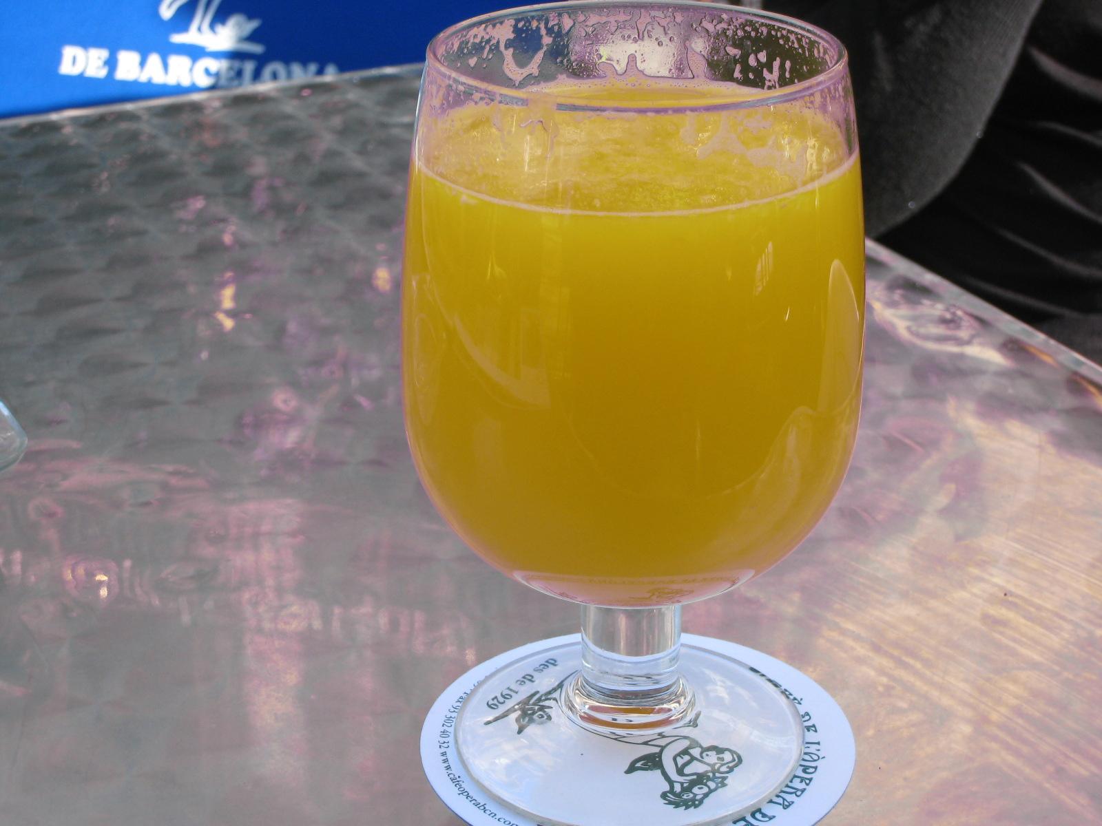 Recept Domácí pomerančový džus - Domácí džus.