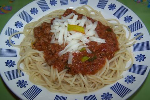 Fotografie receptu: Boloňské špagety