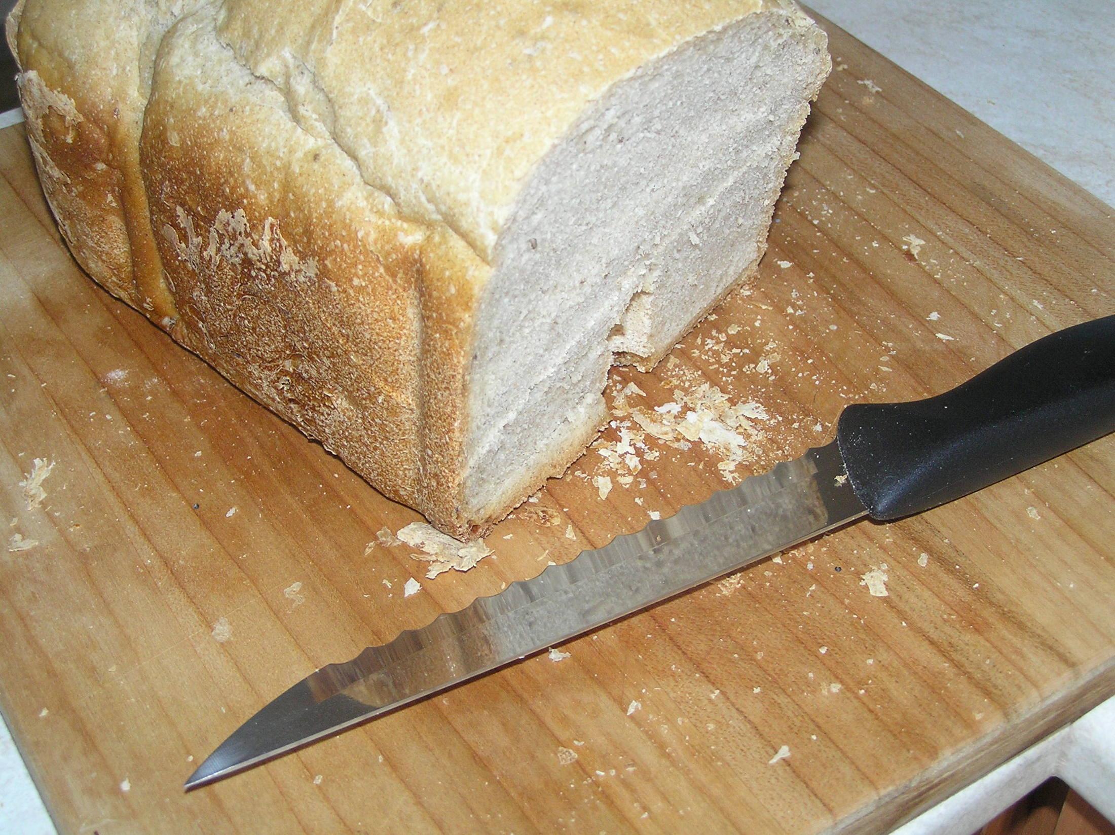 Domácí pivní chléb