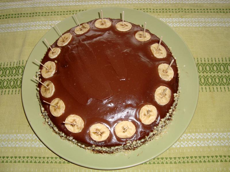 Čokoládový dort se smetanovým krémem