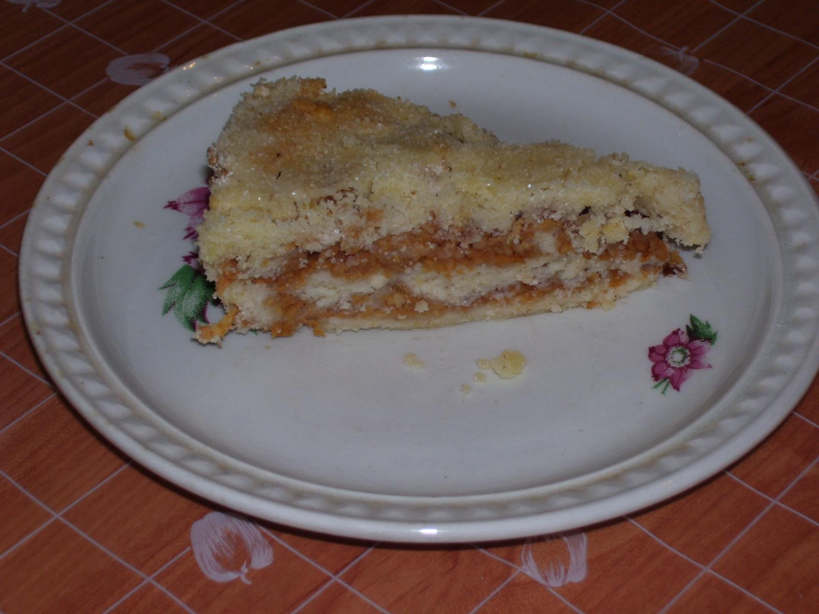 Sypaný švédský koláč