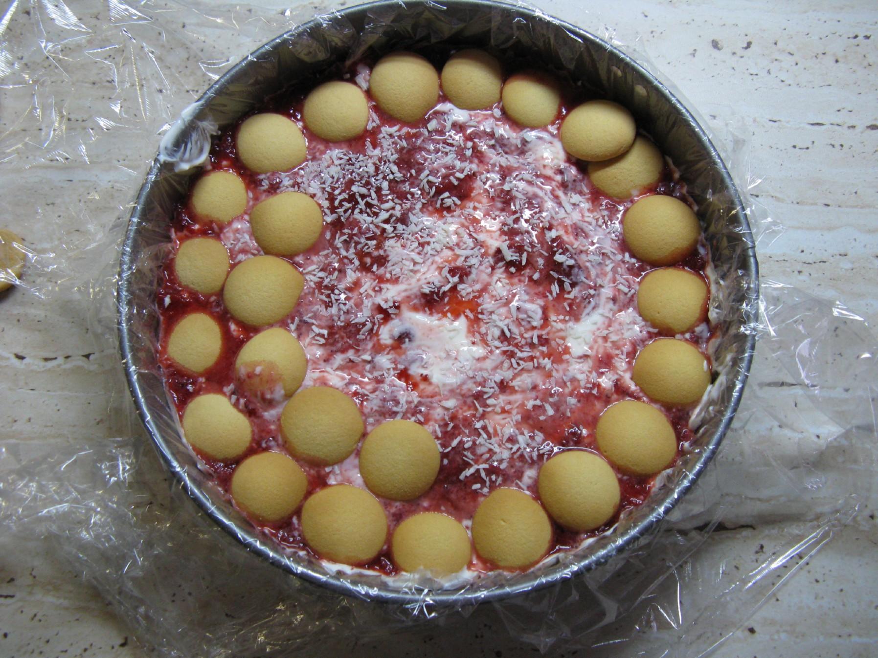 Fotografie receptu: Nepečený dort