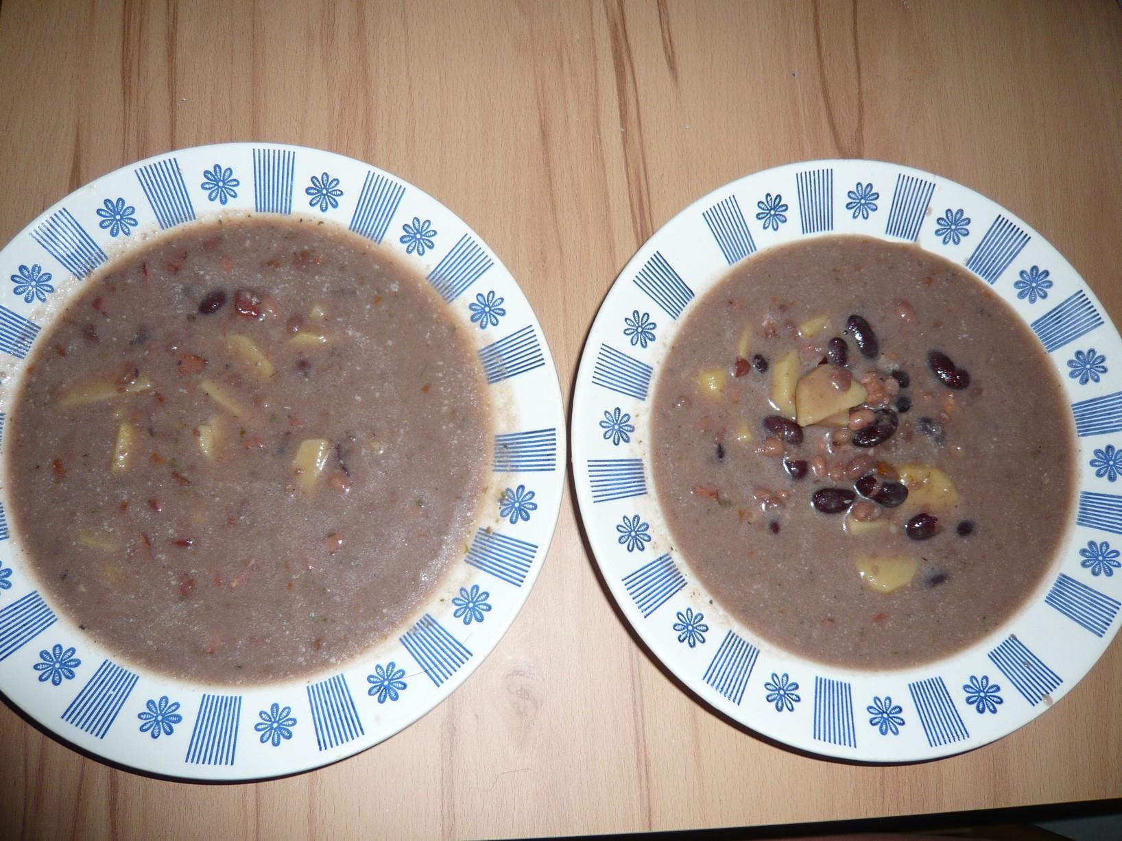 Recept Jednoduchá fazolová polévka - fazolová polévka
