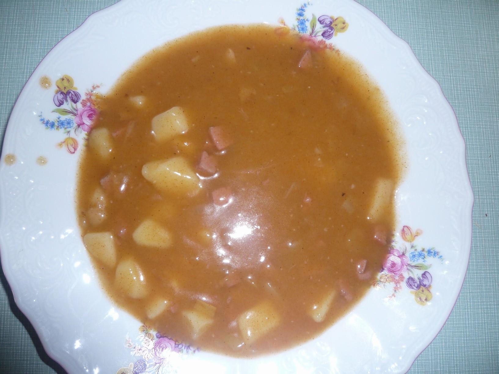 Recept Bramborový guláš - Bramborový guláš.