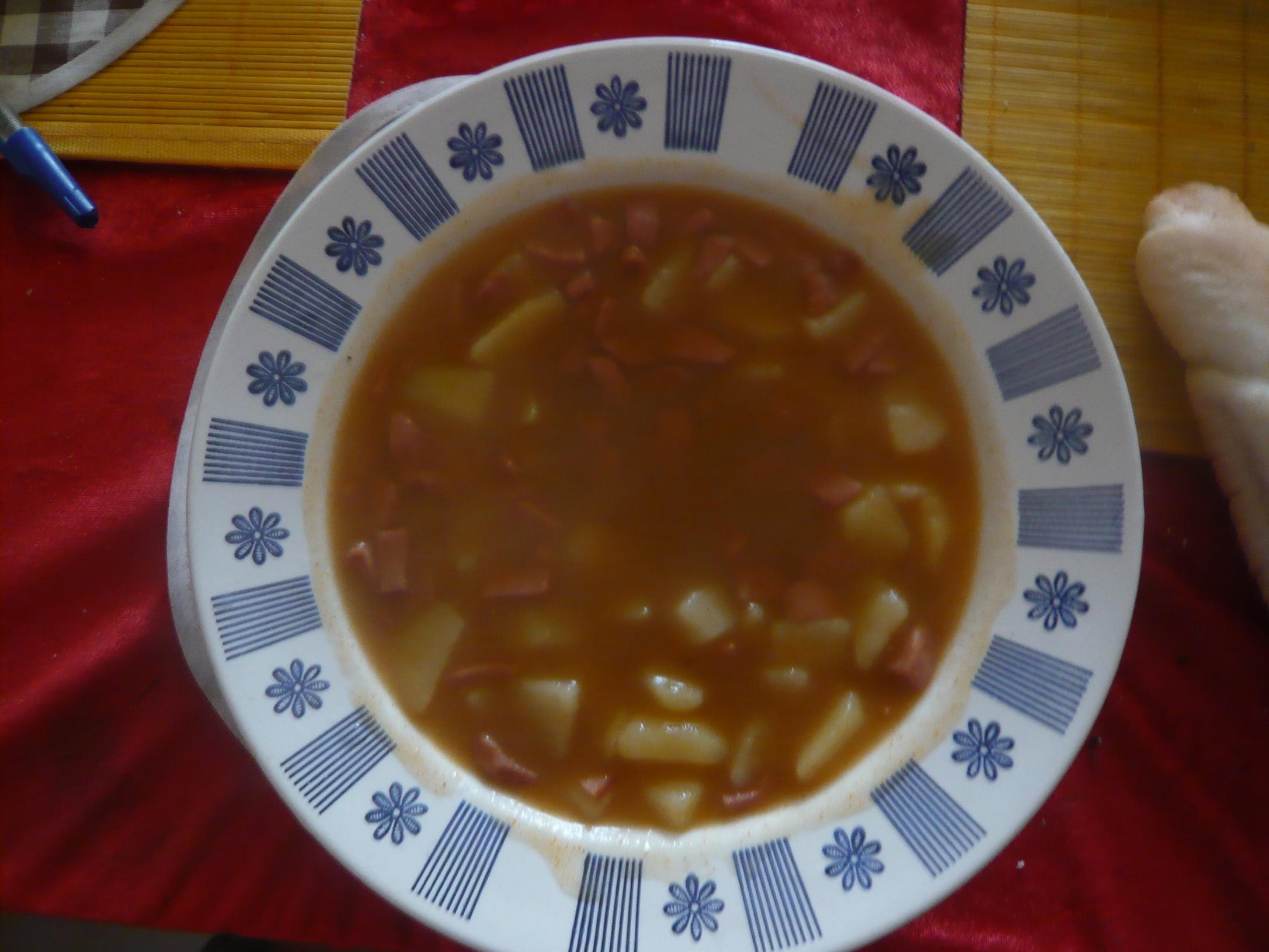 Fotografie receptu: Bramborový guláš