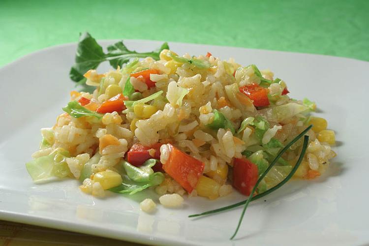 Recept Šťavnaté rizoto - Zeleninové rizoto.