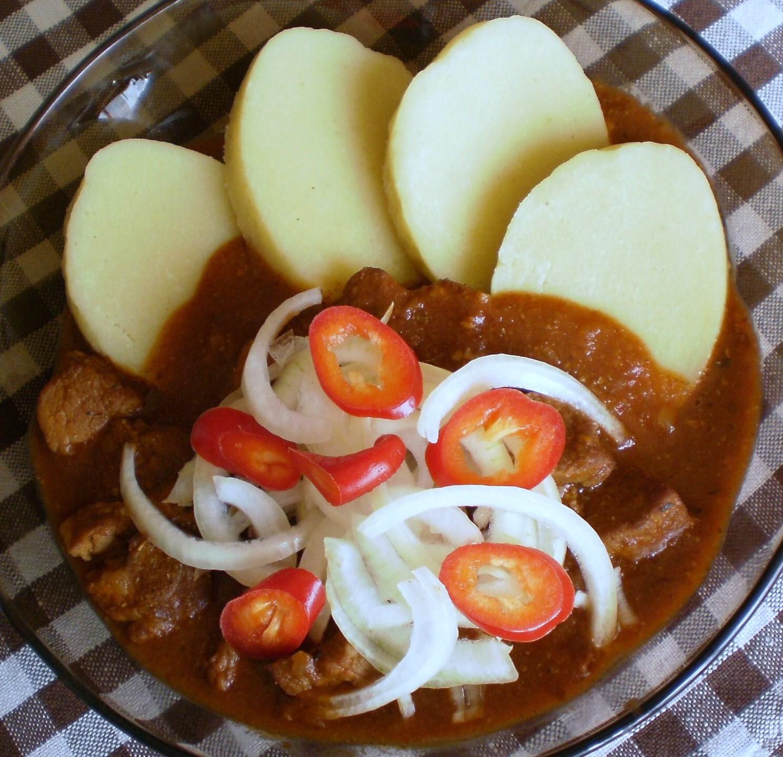 Fotografie receptu: Hospodský vepřový guláš