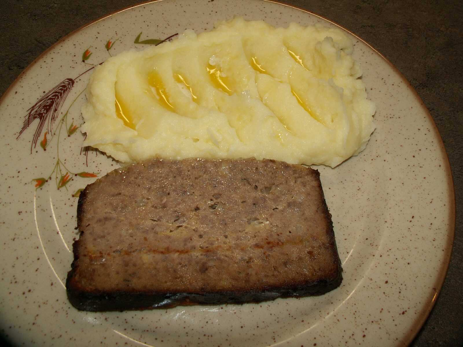 Recept Pavlíkova sekaná z pekárny - Sekaná s kaší.