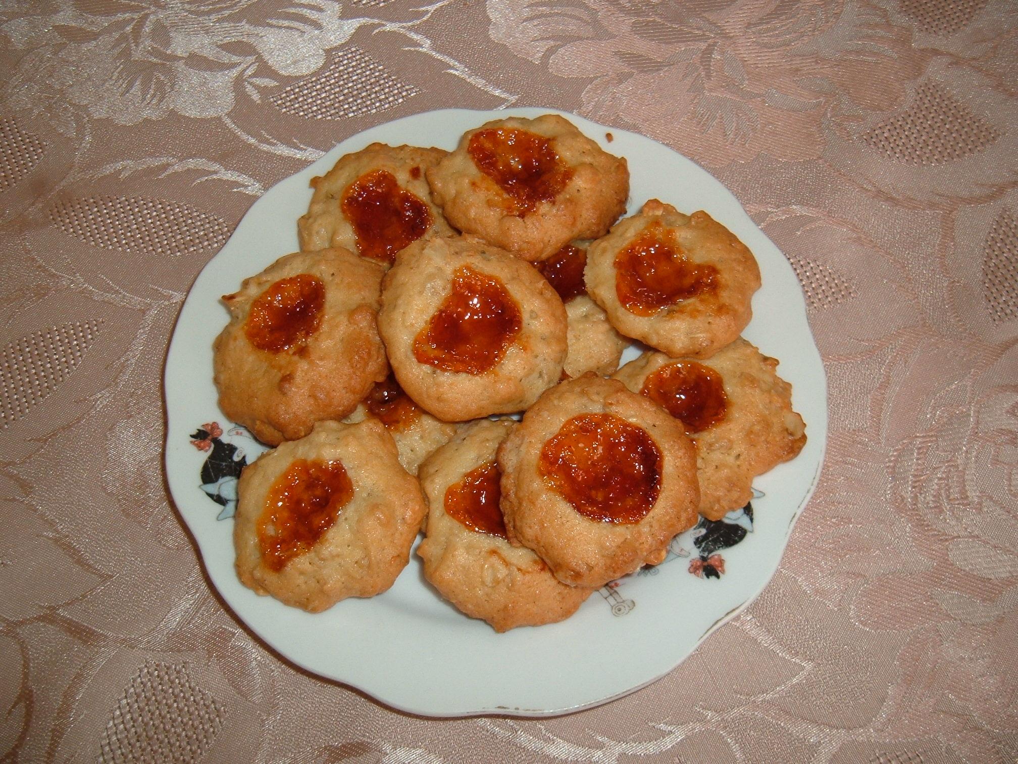 Recept Domácí sušenky - Hotové domácí sušenky.