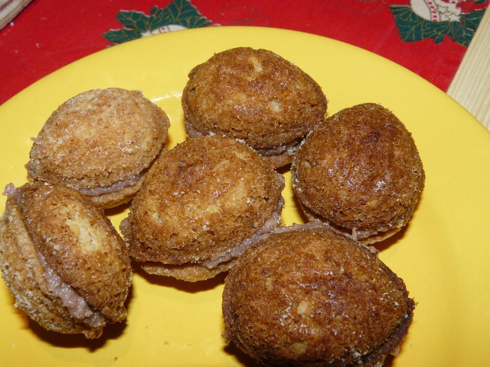Slepované vánoční ořechy