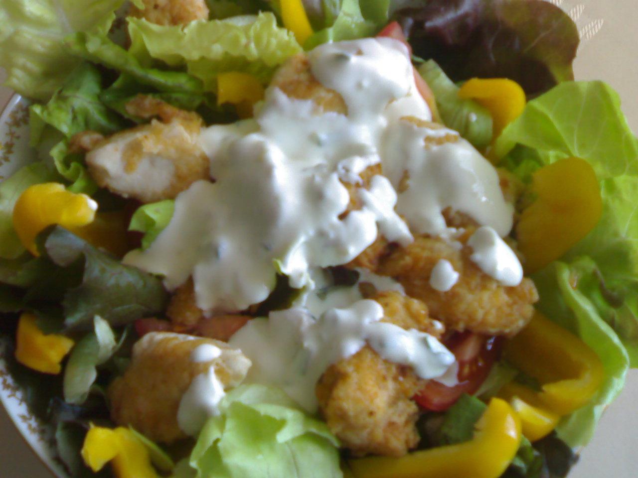 Zeleninovo-kuřecí salát