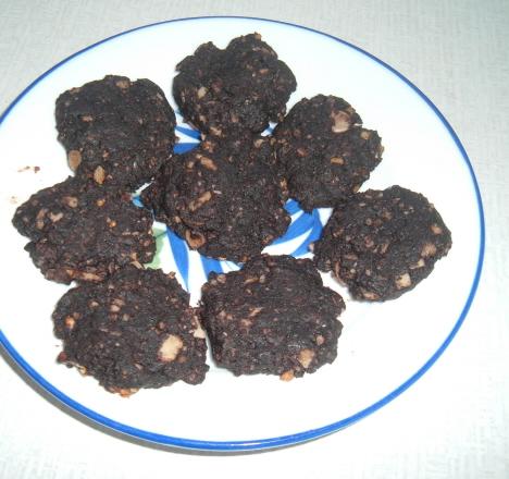 Kakaové domácí sušenky