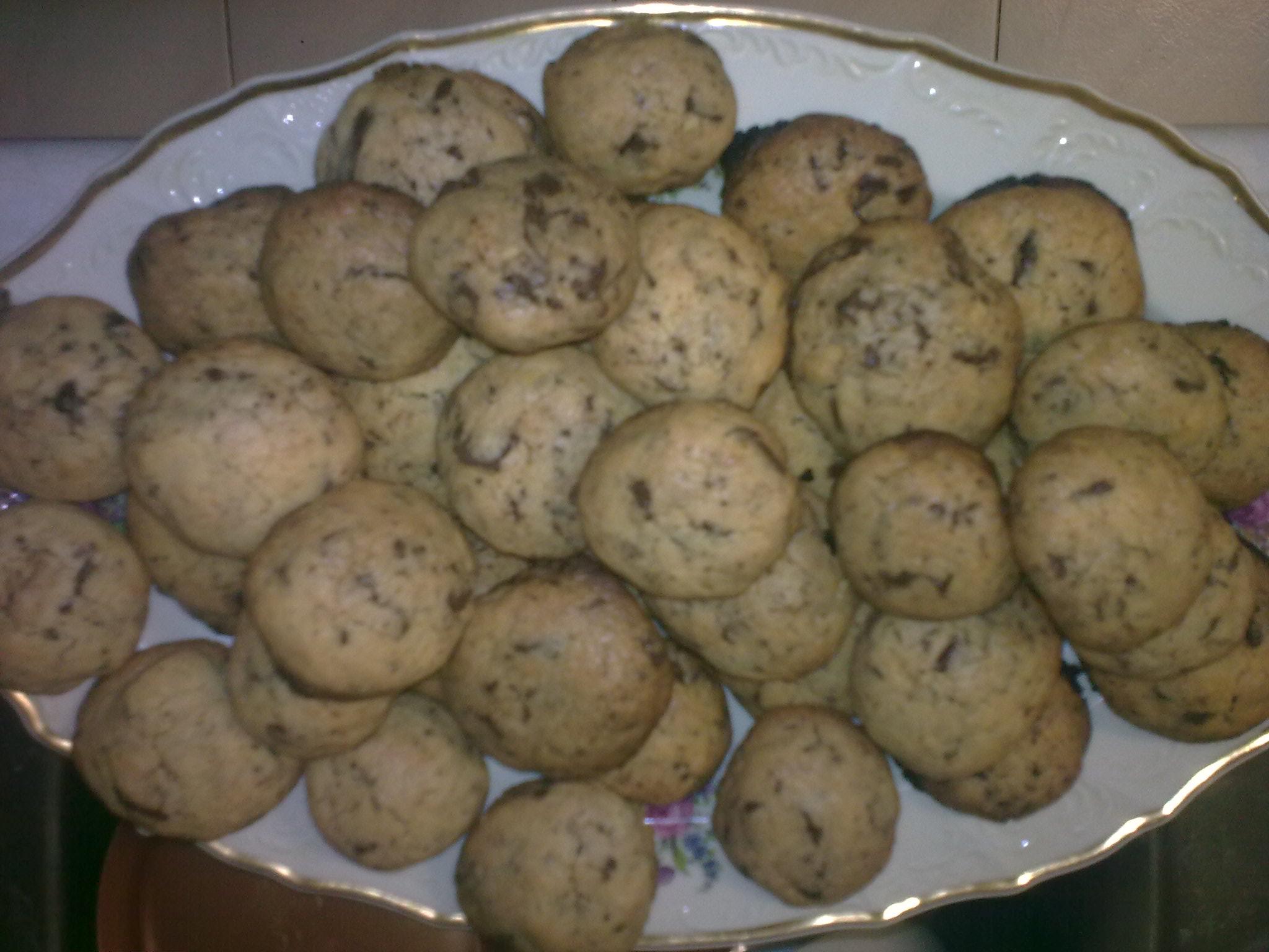 Fotografie receptu: Americké čokoládové cookies