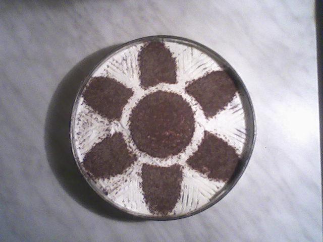 Recept Jednoduché tiramisu - Tiramisu s kytičkou.