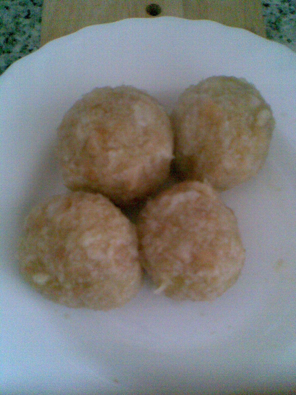 Rychlé bramborové knedlíky