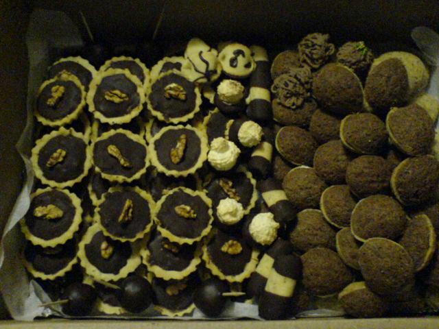 Ořechové košíčky s pečenou náplní