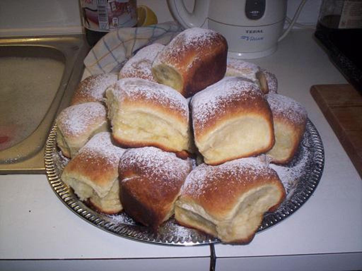 Recept Honzíkovy české buchty - Takhle jsou připraveny ke konzumaci