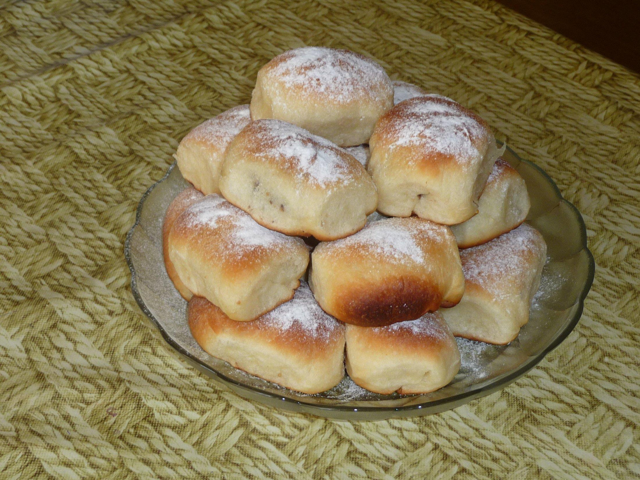 Recept České buchty s povidly - České buchty s povidly.