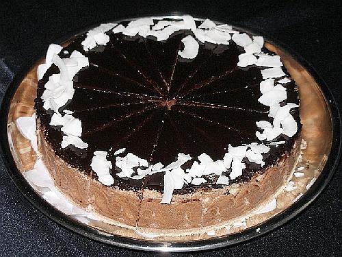 Fotografie receptu: Kokosový dort
