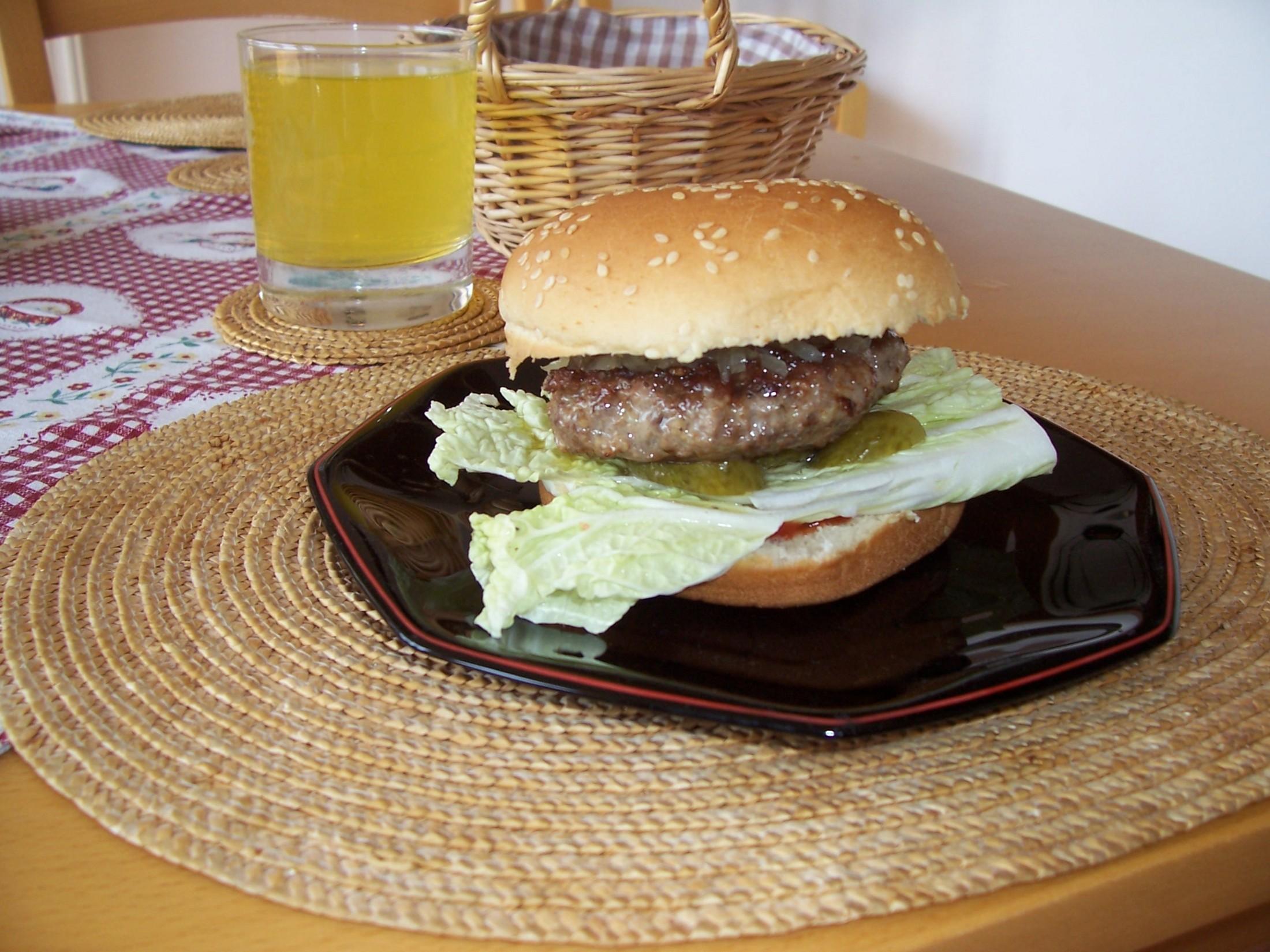 Recept Hamburger - Hamburger.